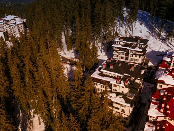 Green Life Pamporovo – view from the sky