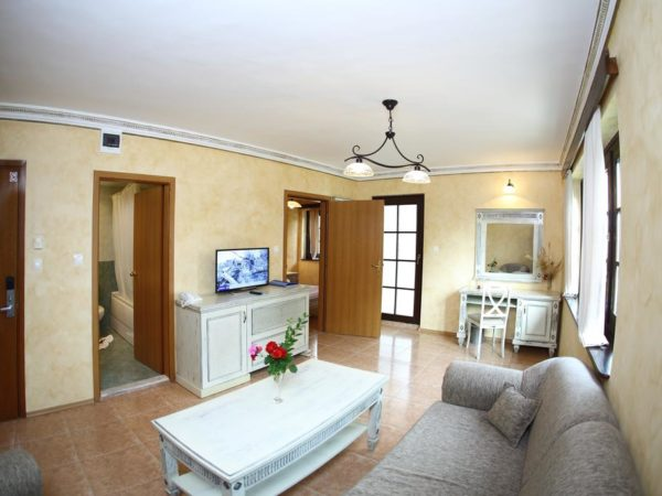 Holiday Village – living room in appartment
