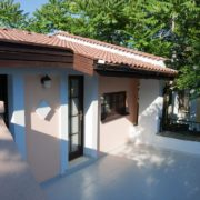 Holiday Village – terrace in the rooms